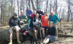 Appalachian Trail Hike 2017 group